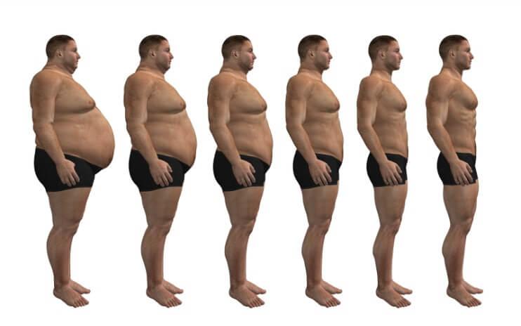 Fat-to-skinny-man