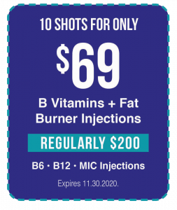 B12 Shot Special Offer for Inside Coup customers